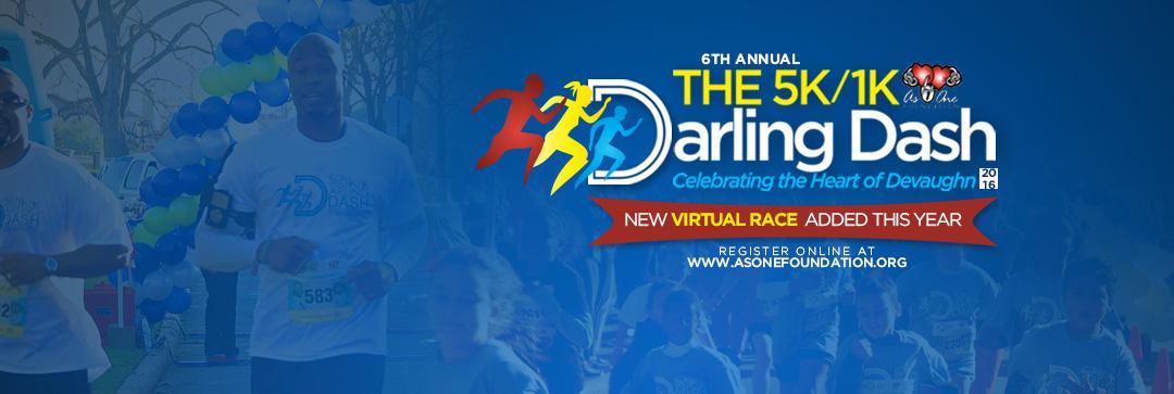 Darling Dash 5K/1K Local & Virtual Events